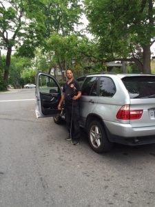 OUVRAGE DE PORTE DE BMW X5 MONTREAL BMW X5 DOOR OPENING LOCK-OUT